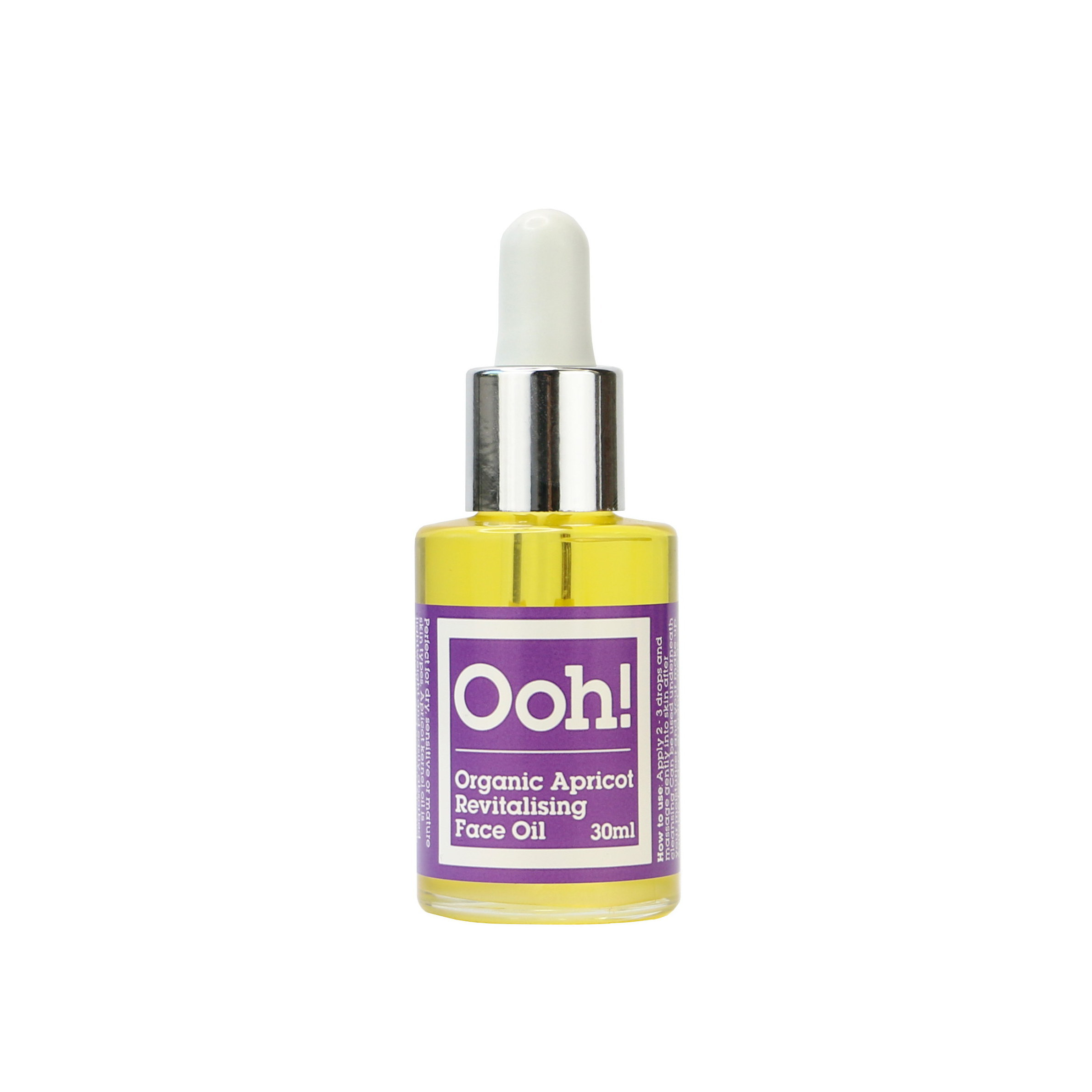 Oils of Heaven Organic Apricot Revitalising Face Oil