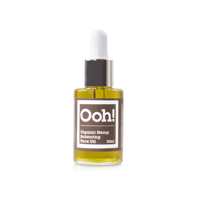 Oils of Heaven Organic Hemp Balancing Face Oil