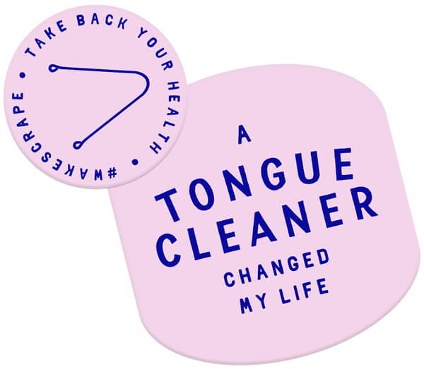 A Tongue Cleaner Changed My Life Logo